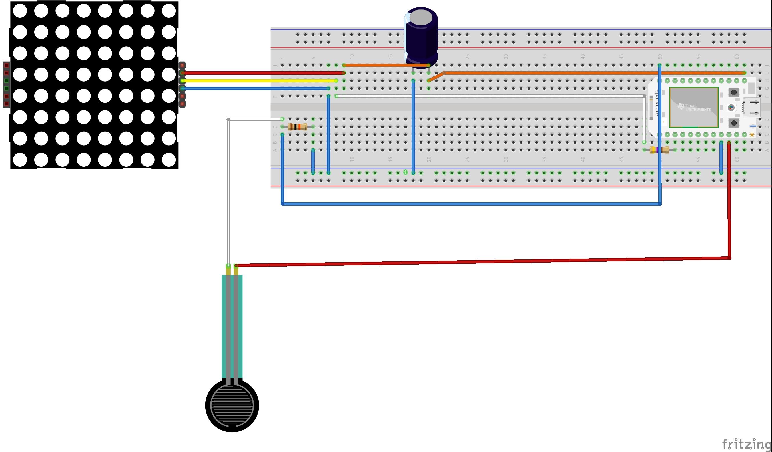 Force sensor and rgb leds bb