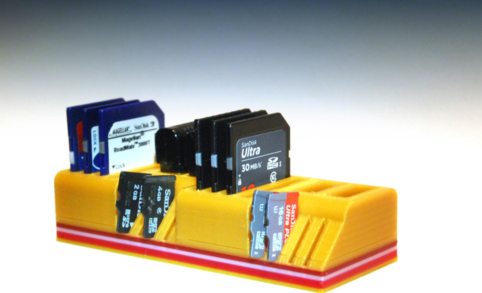 Usb sd and micro sd card holder 3d printing 99128.thumb