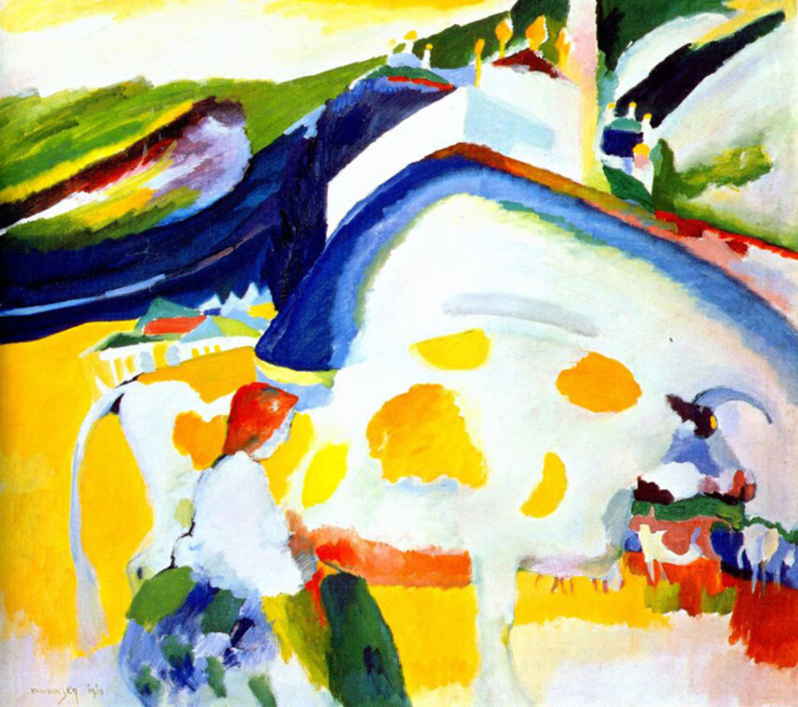 Vassily kandinsky  1910   the cow.thumb