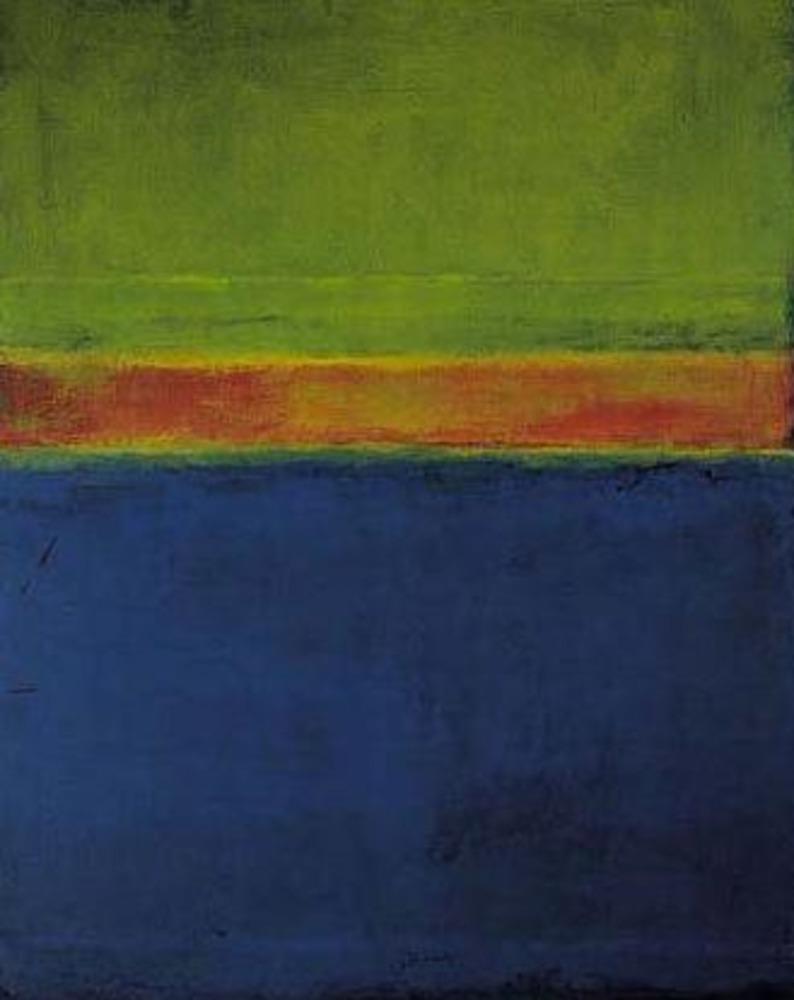Mark Rothko Blue Yellow